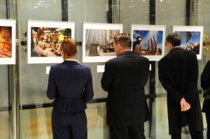 Ausstellung in der EBRD-Zentrale in London