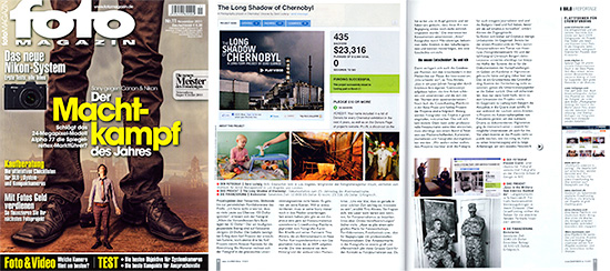 Foto Magazin Features Chernobyl Kickstarter Project
